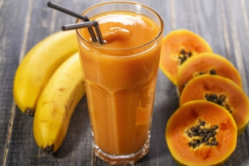 Papaya Banane Smoothie
